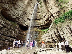 Перевал шаухана и чегемские водопады