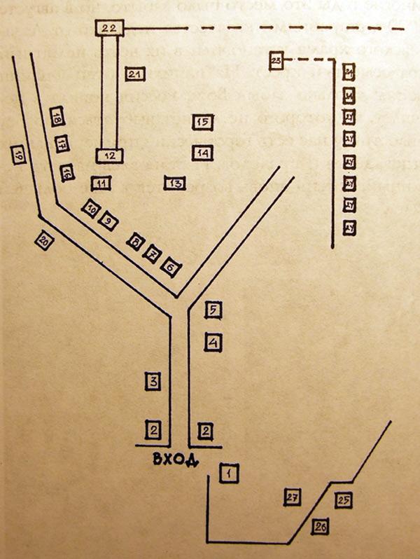 План-схема Пятигорского
